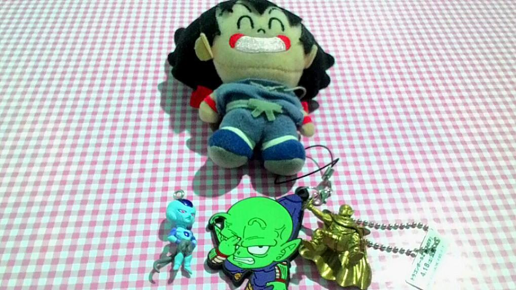 Anime Dragonball plushie, keychain, charm, strap set