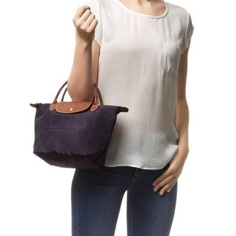 AUTHENTIC LONGCHAMP SMALL LE PLIAGE -  VERY GOOD CONDITION,  USED LESS THAN 5 TIMES - CLEAN INTERIOR - LEATHER HANDLES IN GOOD CONDITION