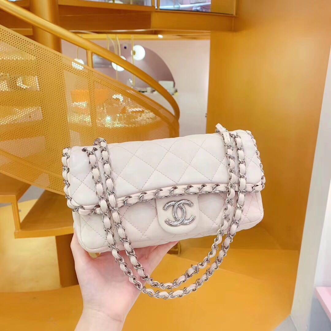 Authentic Pre-loved Chanel Chain Around Small Flap Bag
