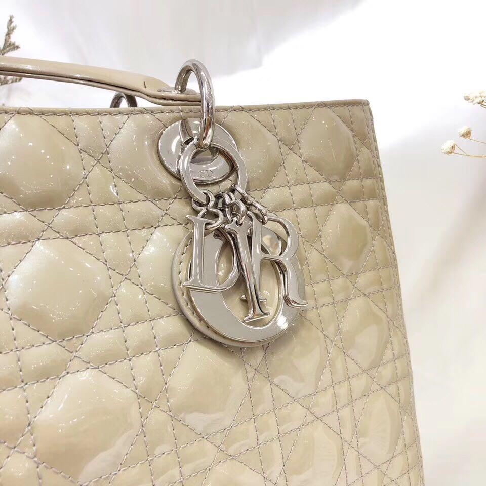 Authentic Pre-loved Christian Dior Lady Dior Large