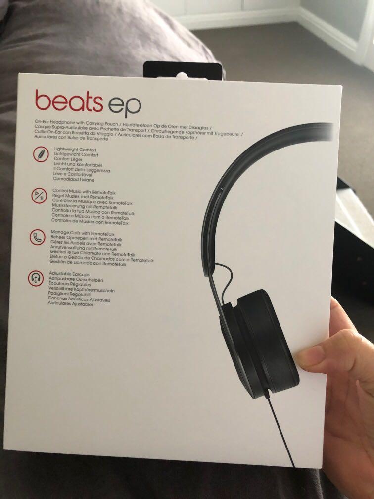 Beats ep headphones Matte black brand new