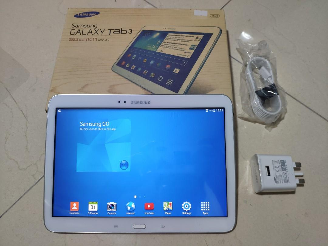 Beautiful White Samsung Galaxy Tab 3 10.1, 16GB, WiFi