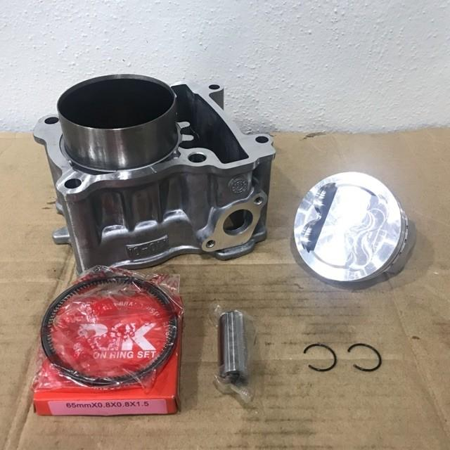 Block racing lc135 62mm siap piston