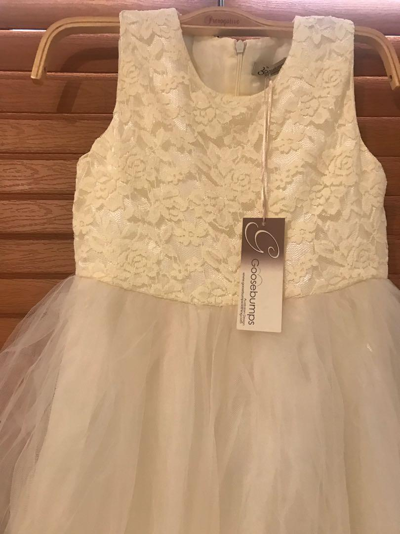 Brand new goosebumps flower girls dress size 8 $129