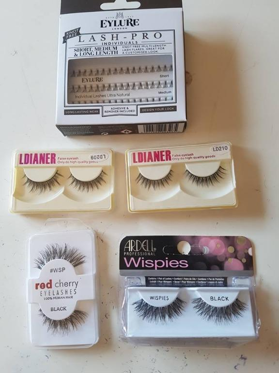 Bulk Eyelashes- Ardell, Red Cherry, Ldianer, Eylure. BNIB