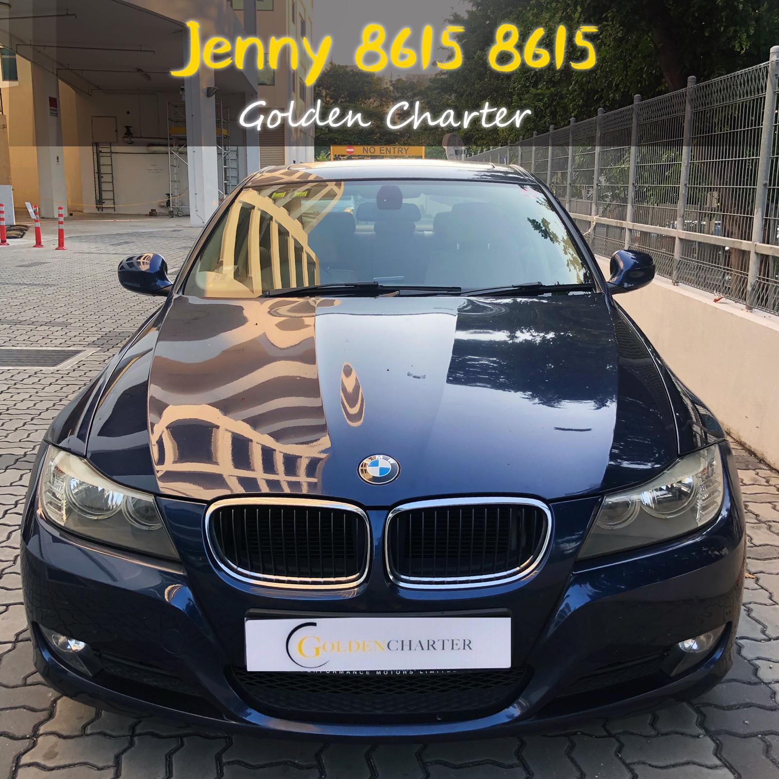 Bwm318i (bofore gojek rebate)sunroof CONTI CAR rent personal use grab gojek long term.cheap rental