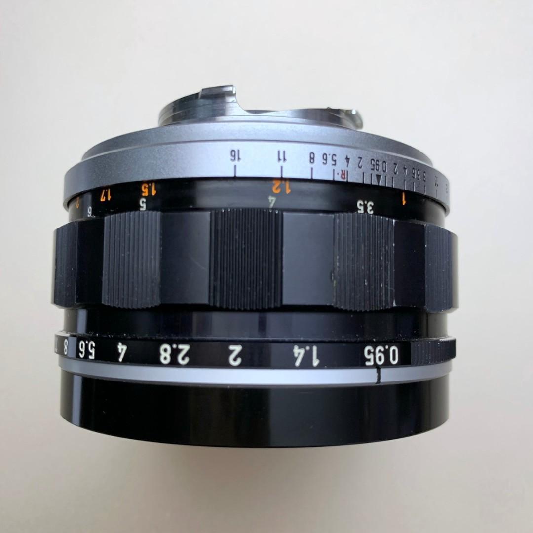 Canon LTM 50mm F0.95 50/0.95 可交換 Leica M 鏡