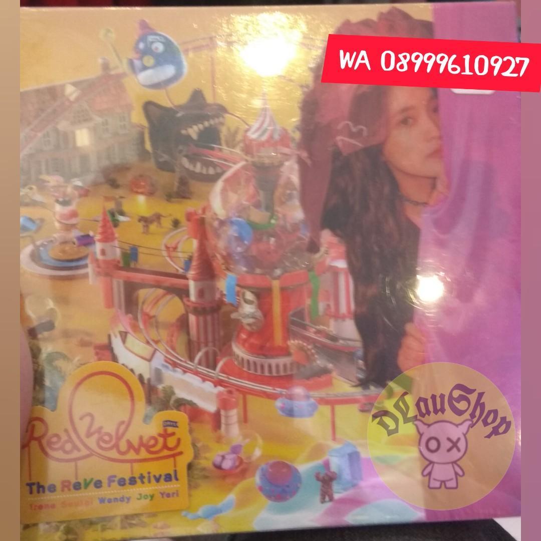 CD Red Velvet The Reve Festival Cover Joy dan Yeri