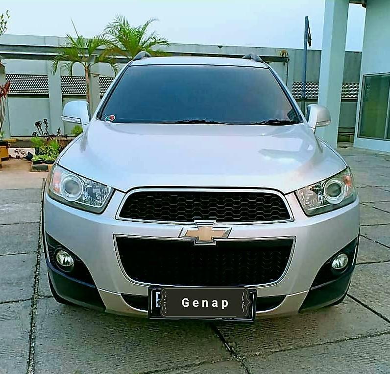 Chevrolet Captiva FL 2.0 AT diesel 2014 Turbo Silver
