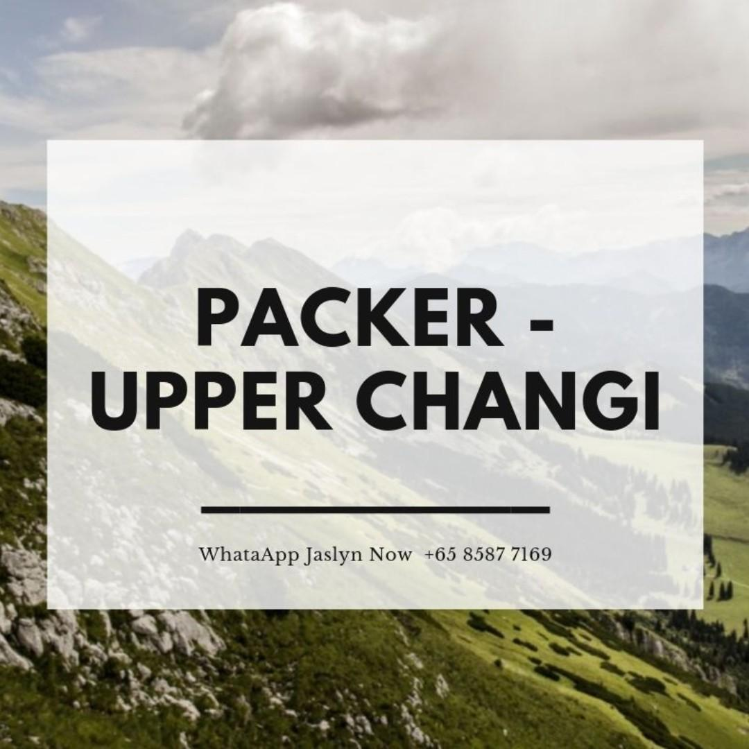 Chip Packer @( Up to $1600 gross / Upper Changi )