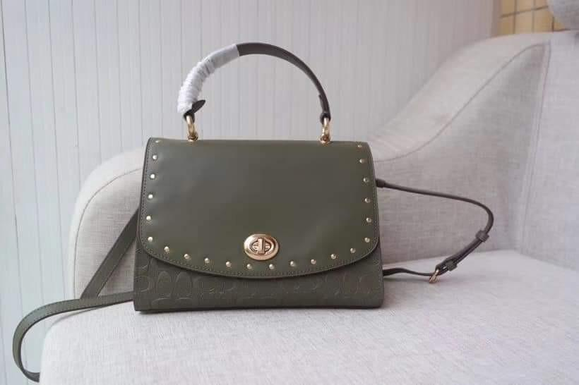 Coach rare color handbag