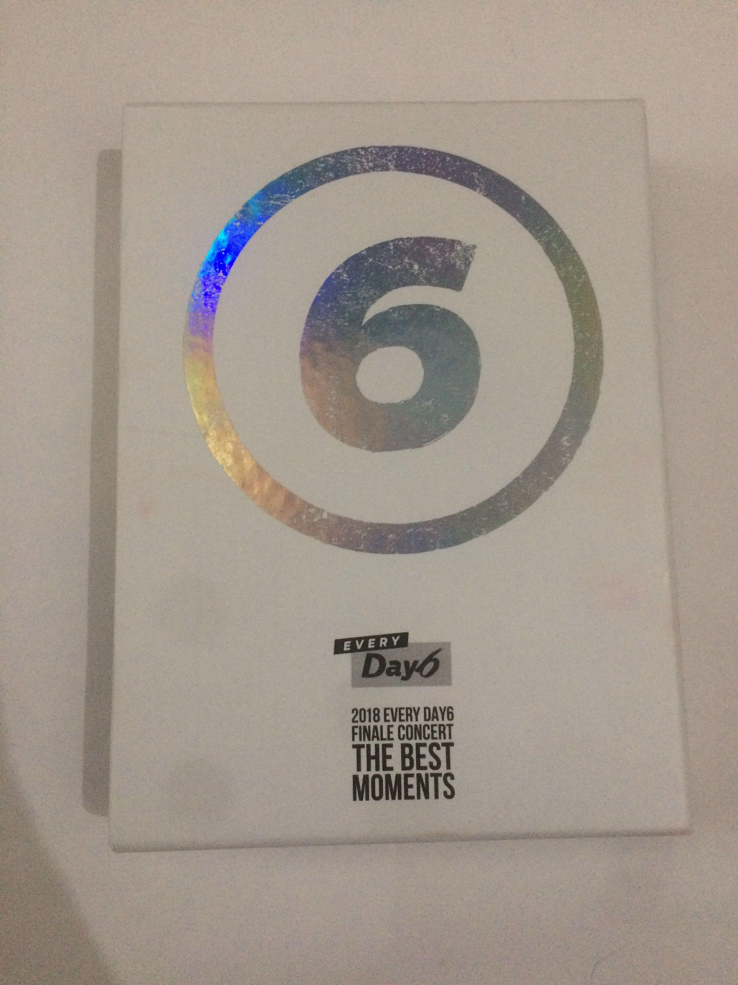 DAY6  - EVERY DAY6 FINALE CONCERT THE BEST MOMENTS DVD + PHOTOBOOK