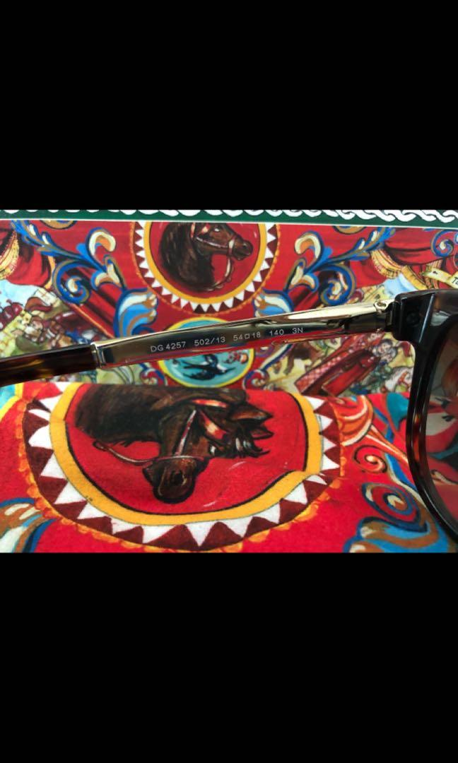 "Dolce & Gabbana Sunglasses ""D&G Sicily"" Collection"
