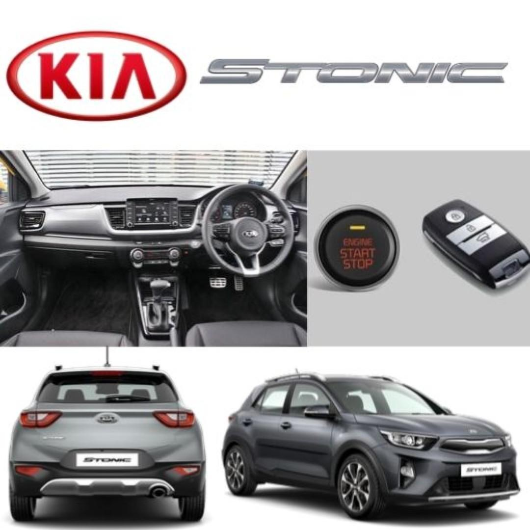 DRIVE IN STYLE! 2019 Brand New Kia Stonic Ex For Rent! Directly from Cycle And Carriage!