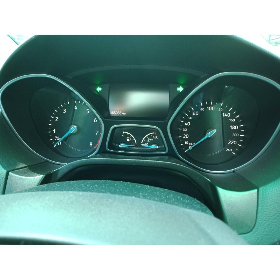 【FB搜尋桃園阿承】福特 超人氣FOCUS頂級跑6.6萬 2016年 1.5 白色 二手車 中古車