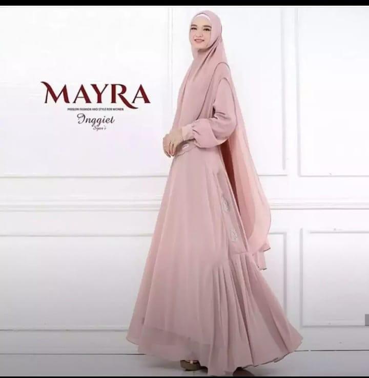 Gamis Syari Mayra Preloved Fesyen Wanita Muslim Fashion Lainnya Di Carousell