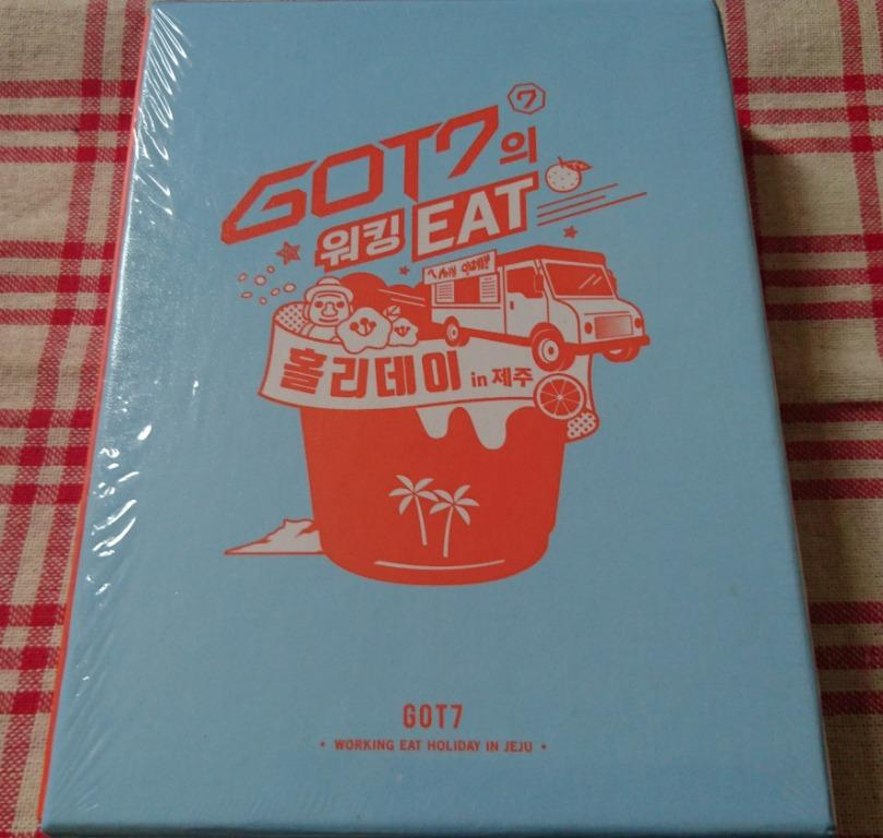 GOT7 Working Eat Holiday in Jeju DVD (3DISC) + Photobook