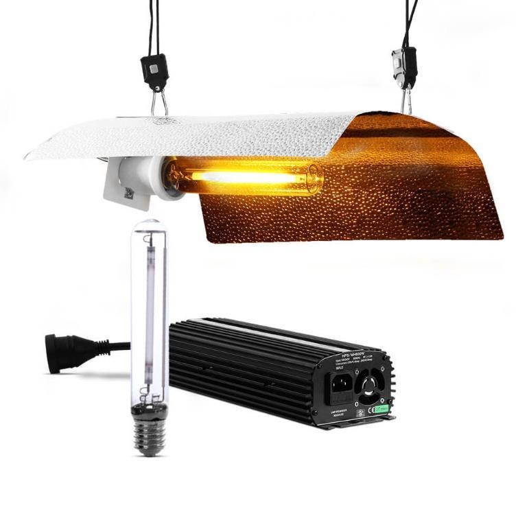 Greenfingers 1000W HPS MH Grow Light Kit Digital Ballast Reflector Hydroponic Grow System Kit