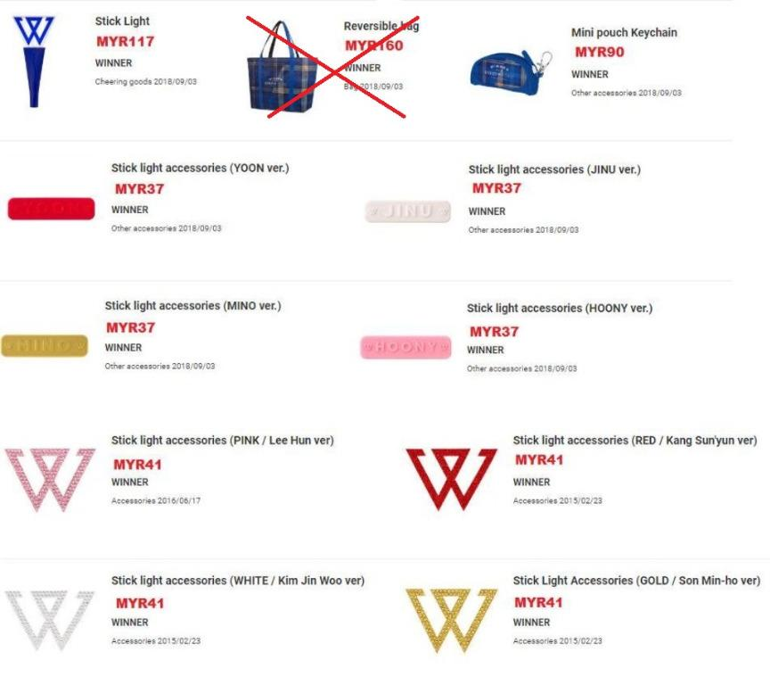 🇲🇾[GROUP ORDER] WINNER JAPAN TOUR 2019 MD - SEP BATCH