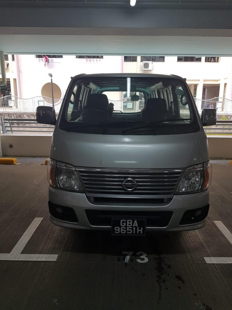 Hiace,liteace new,old,auto,manual for rent long term