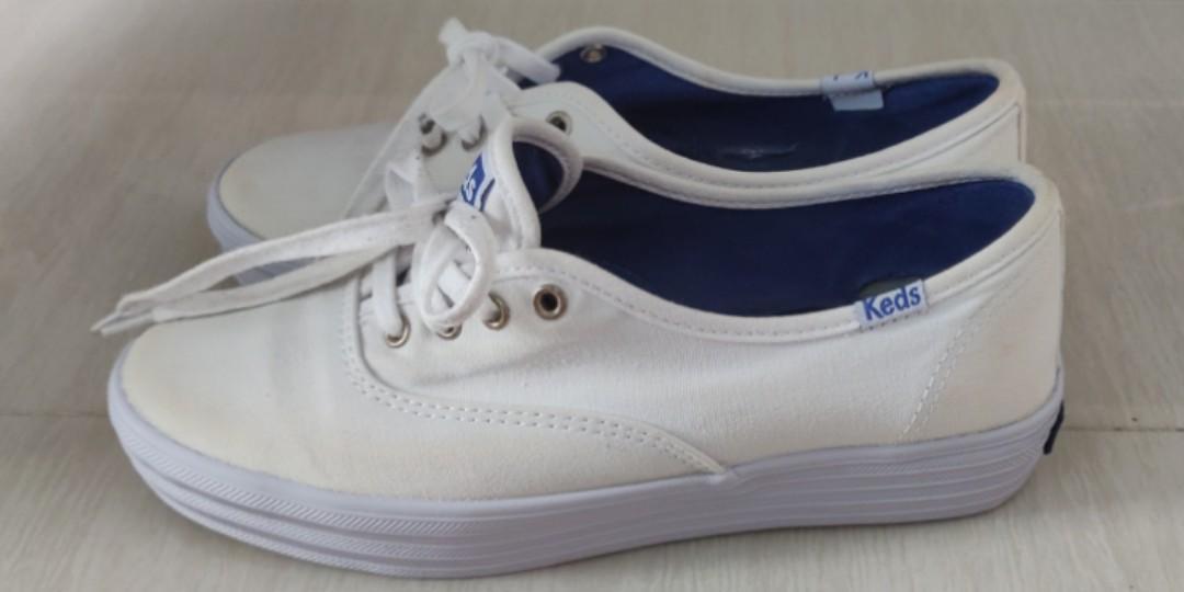 High Platform Canvas Sneakers Shoe Keds