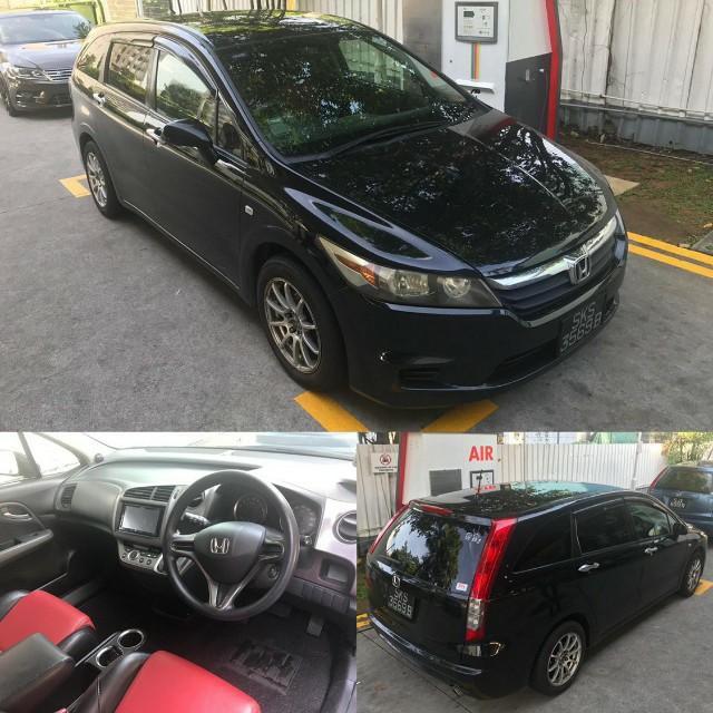Honda Stream  For Rental