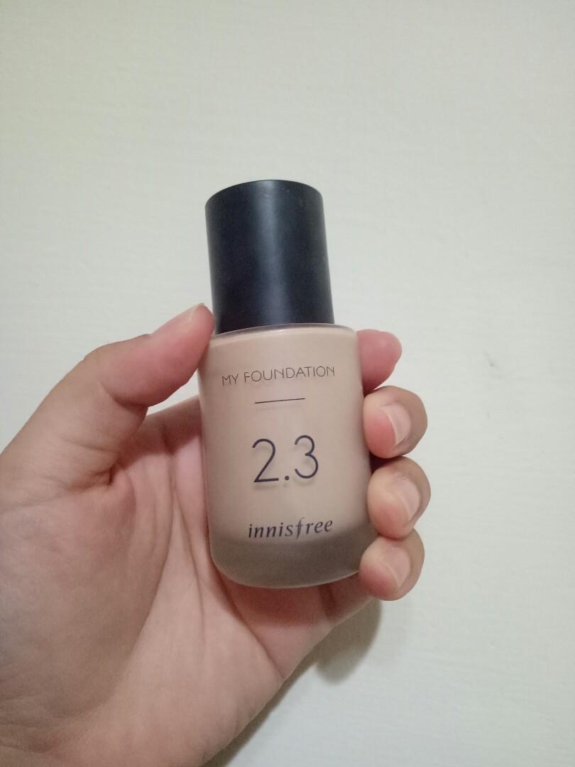 韓國 innisfree 粉底液 色號:N21