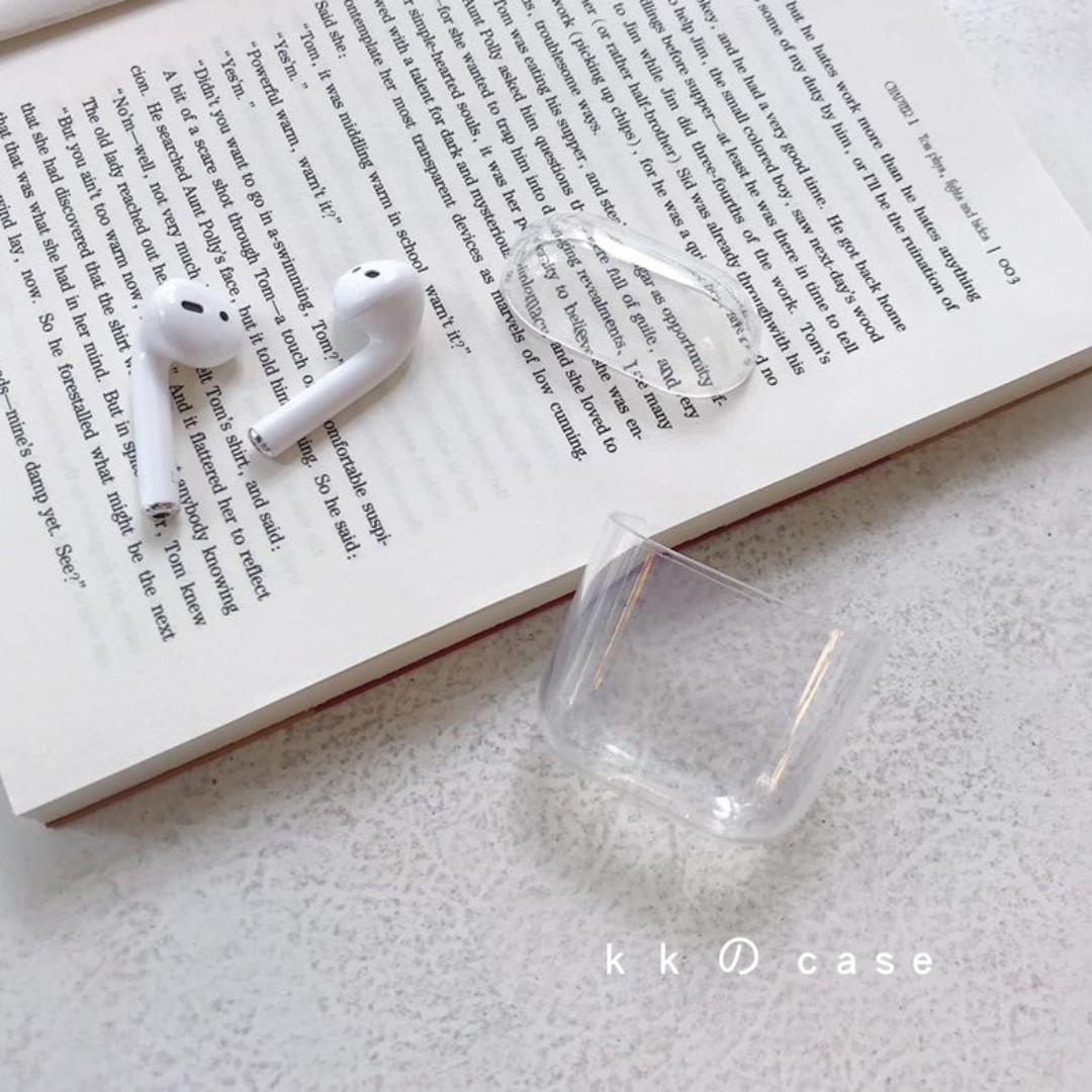 [INSTOCK] Clear AirPods Casing