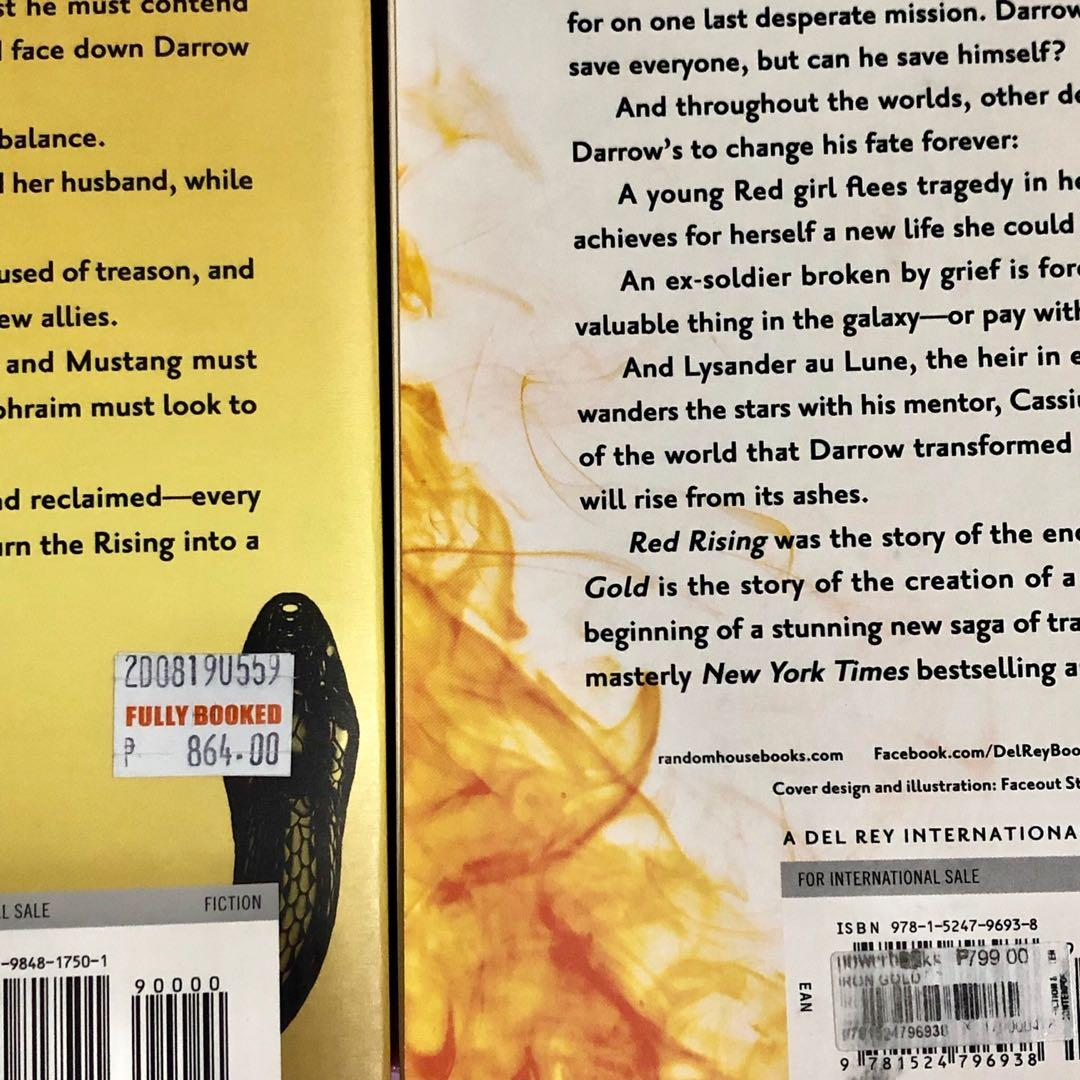 Iron gold dark age BUNDLE pierce brown red rising series on band brand new large paperback