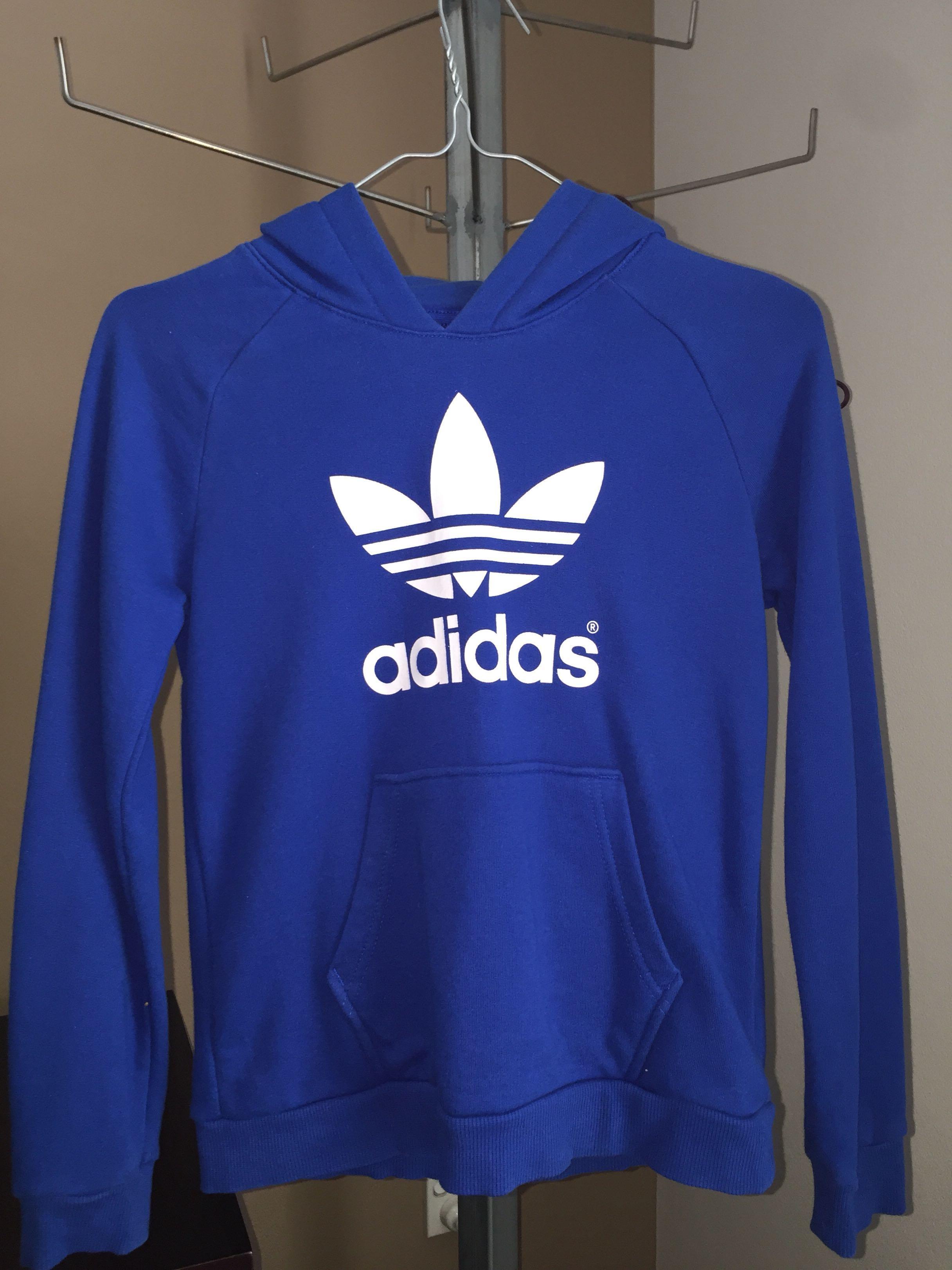 Kid's Adidas Hoodie - Blue