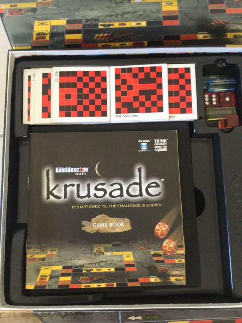 Krusade Board Game  The Kaleidoscope Classic Complete VGC