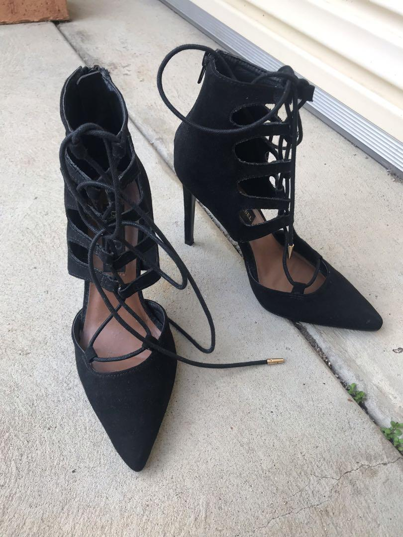 Lace Up Heels Size 6