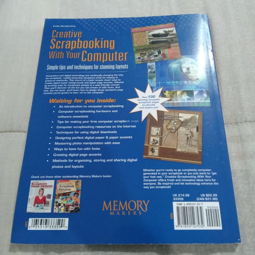 Legit Used Memory Makers Creative Scrapbooking With Your Computer Paperback Book
