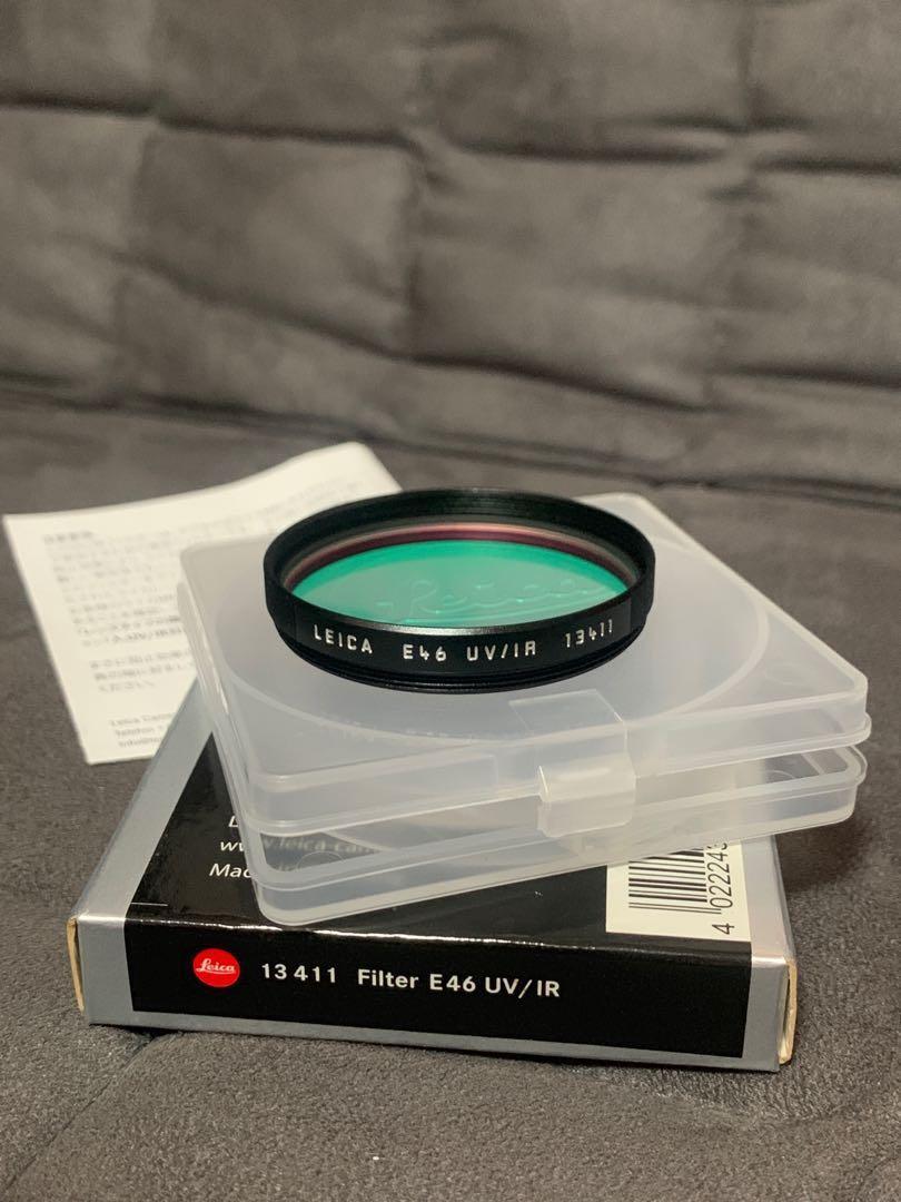 Leica E46 UV/IR  Black 13411