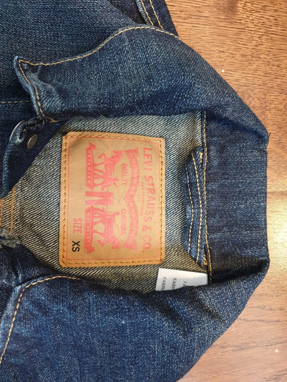 Levis Denim Jacket Mens rare size XSmall