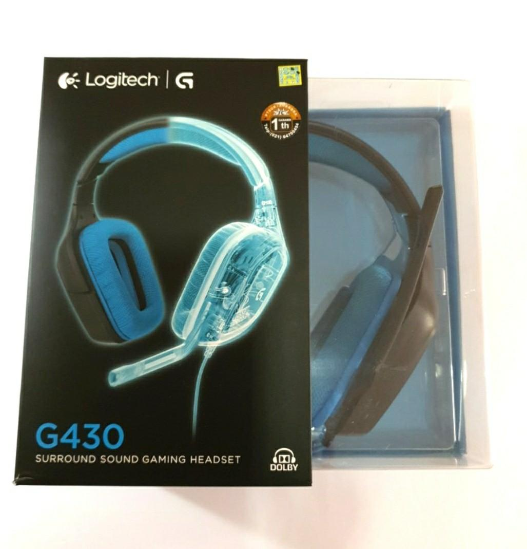 Logitech G430 7.1 Surround Sound Gaming Headset