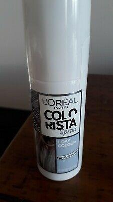 L'Oreal Paris Colorista Temporary Hair Colour Spray in Grey 75ml Brand New & Sealed [Price is firm, No swaps]