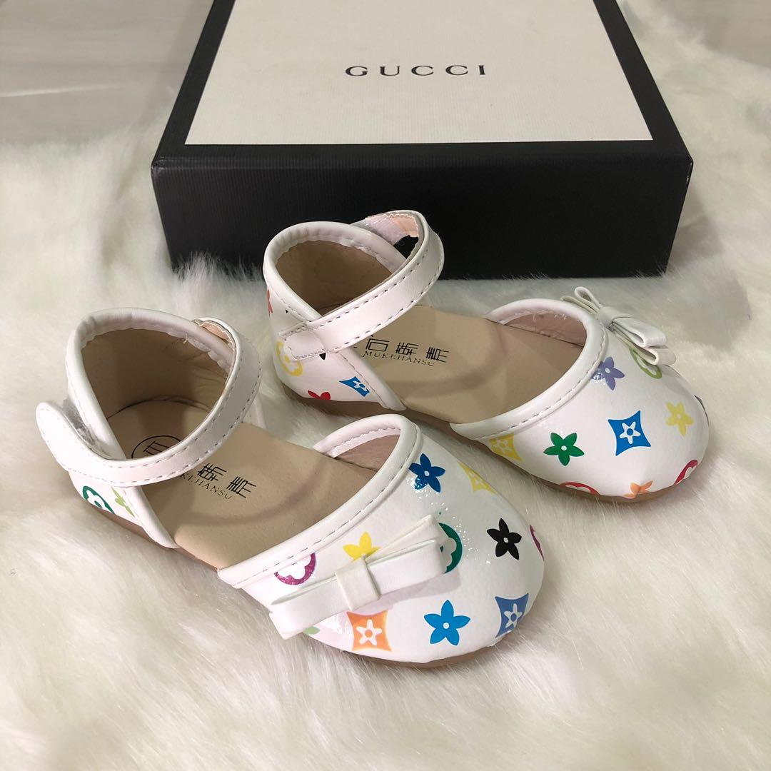 LV inspired baby girl sandals 1 to 4