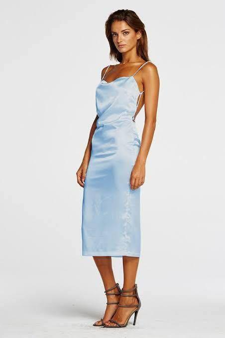 Maurie and Eve Apache Dress Blue