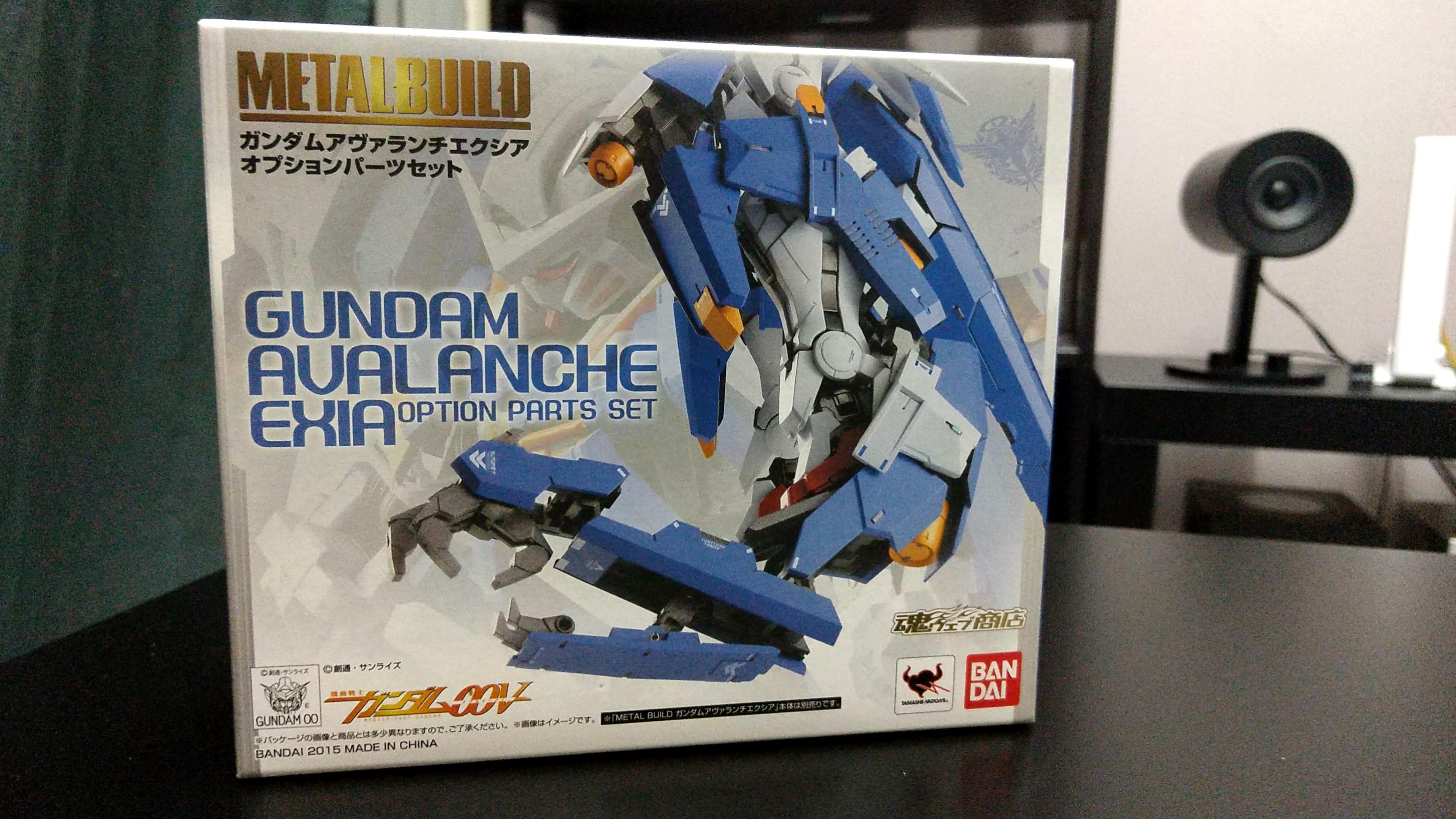 Metal Build Gundan Avalanche Exia *AND* Gundam Avalanche Exia Option Parts: Bandai Tamashii Nations