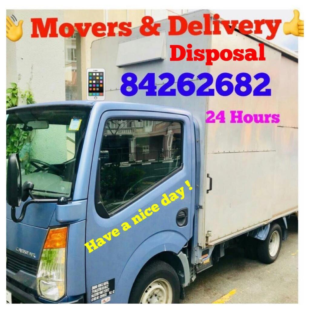 Movers & Disposal and Delivery , Transport.