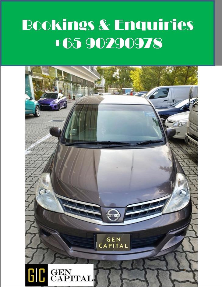 Nissan Latio - Lowest rental rates, with many choices to choose from!