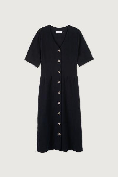 OAK+FORT BUTTON UP DRESS