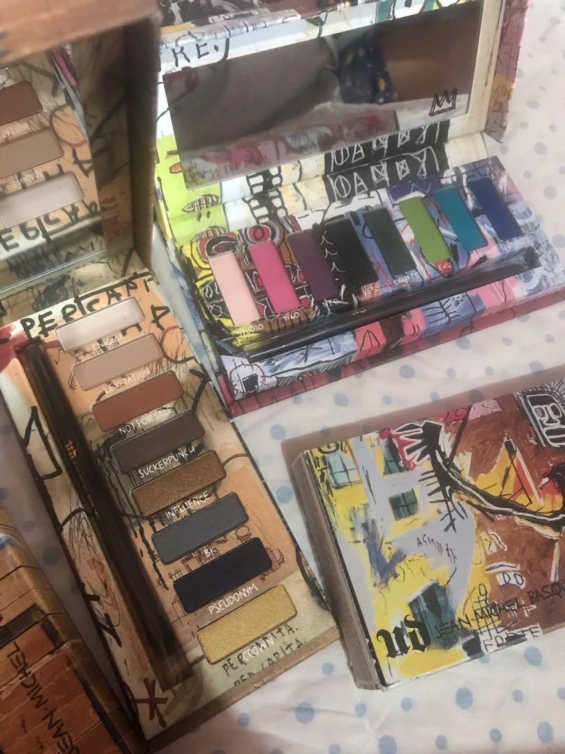 Palettes eyeshadow Jean-Michel Basquiat