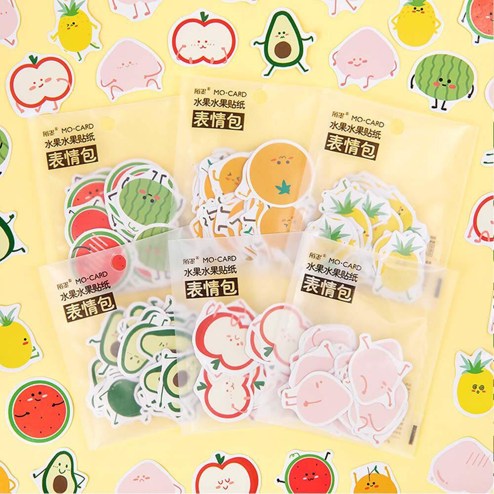 [PO] avocado fruit sticker packet