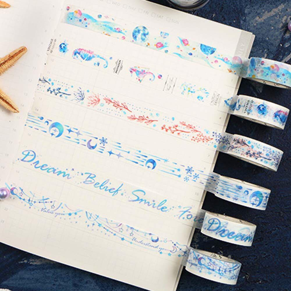 [PO] whales blue washi tape