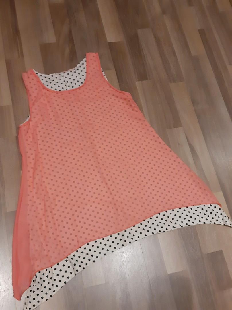 Polka dot layered dress #MYCYBERSALE