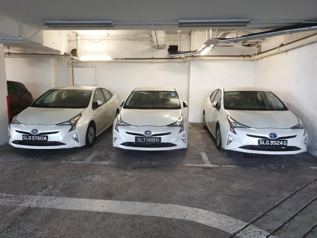 Prius hybrid for phv (min 3 mths rental)