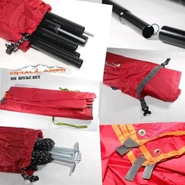 Tenda darurat Bivak set lengkap
