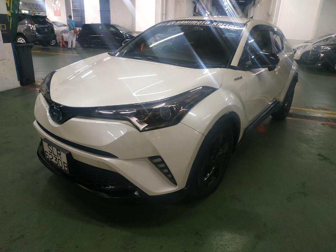 Toyota chr hybrid 1.8s